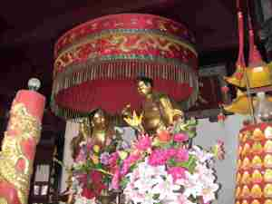 Buddhistischer Tempel in China
