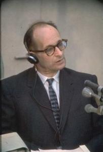 Adolf Eichmann vor Gericht in Israel 1961