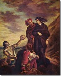 Eugene Delacroix malte diese Totengräberszene