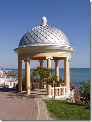 Strandpavillon in Sotschi