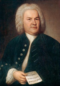 Porträt Johann Sebastian Bach