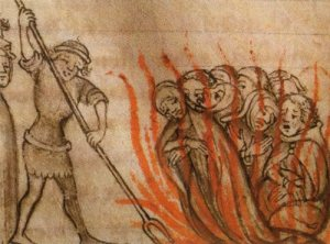 Ketzerverbrennung im Mittelalter