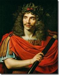 Molière als Cäsar, gemalt von Nicolas_Mignard_(1658)