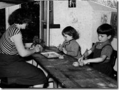 Atelier in Suhl, Herrenstraße 26, 1956