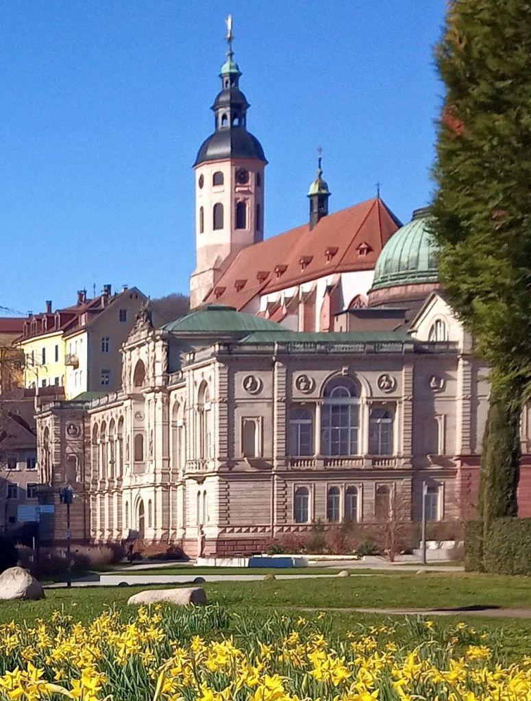 Friedrichsbad und Stiftskirche Baden-Baden 2021